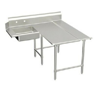 "Elkay Spokane Spec-Line L- Soiled Dishtable 72"" - SLDDTLE-72-R"