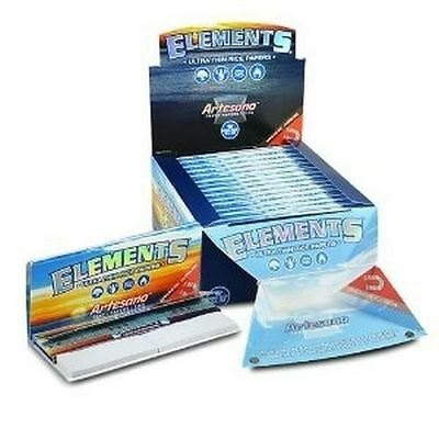 Elements Artesano 1 1/4 Rolling Papers Full Box 15 Total Packs SPECIAL PRICE