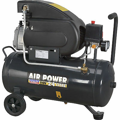 Sealey 24L Electric Air Compressor with Direct Drive 2Hp 110v