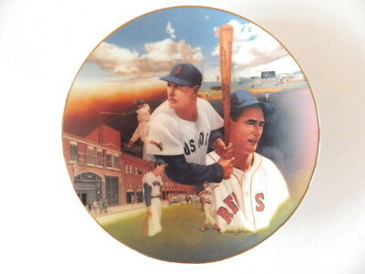 Ted Williams Collectors plate,, by  sports impression Boston Red Sox