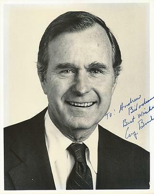 President George H. W. Bush- Glossy Signed Photograph