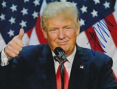 Donald Trump- Color Signed Photograph