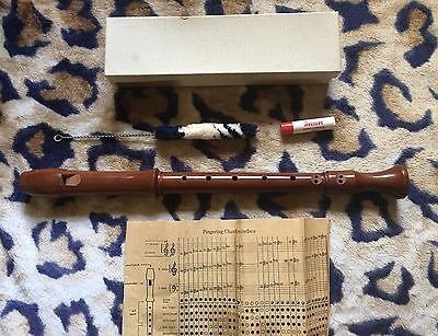 Vintage Clarion Wood Recorder - Made in Germany