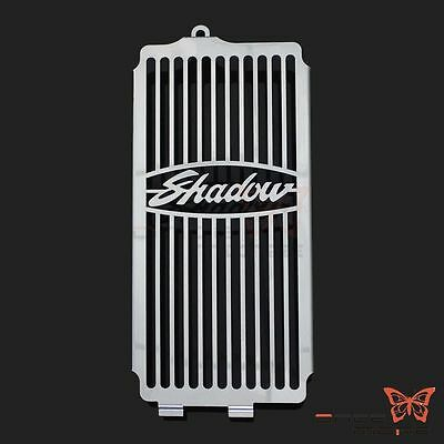 Steel Radiator Grille Cover Protector Guard For Honda Shadow Spirit 750 2001-08