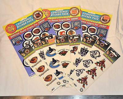 Large Lot Of NHL Hockey Stickers And Decals - Sabres, Toros And More