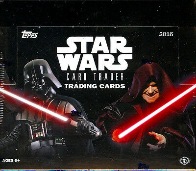 2016 Topps Star Wars Card Trader Hobby Box Factory Sealed New
