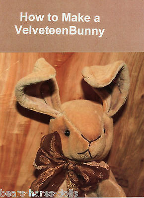 PRIMS Velveteen Rabbit Pattern Book, 30 Color Pages, Patterns, Signed