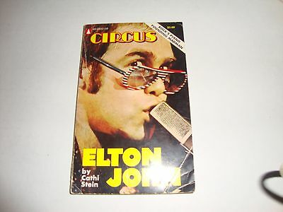 Elton John by Cathi Stein Paperback Book 1975 Paperback Book Photos from Circus