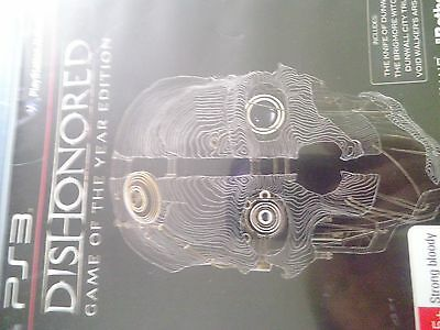 playstation 3 game ps3 dishonored game of the year edition
