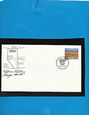 Canada  FDC    #  863   Signed