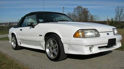 1989 Ford Mustang GT 1989 Ford Mustang GT 5.0 Vert