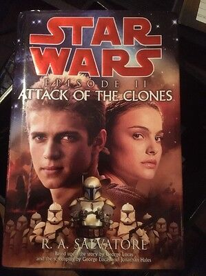 Star Wars Episode II Attack Of The Clones Book