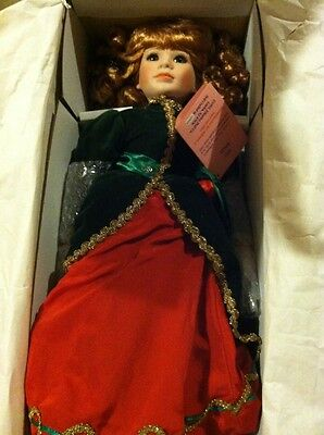 """Effanbee """"Holly"""" doll with COA ... sculpted by Linda Steele"""