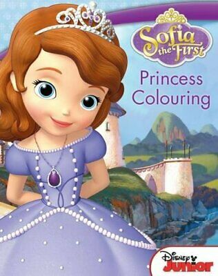 Disney Sofia the First Princess Colouring by Disney Book The Cheap Fast Free