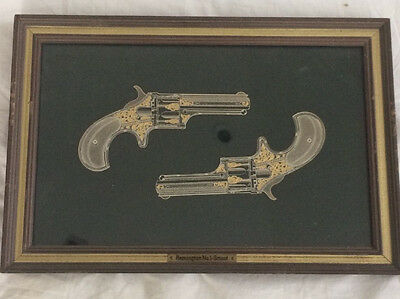 Franklin Mint Remington No. 1-Smoot 24k Gold and Sterling Silver 1981