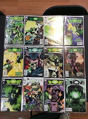 Lot Of Ion: Guardian Of The Universe Complete Set DC Comics Issues 12 TOTAL