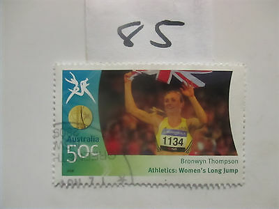 No-- 85- --2006 COMMONWEALTH  GAMES  -USED  50c  VALUES