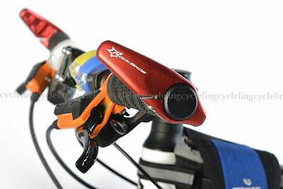 RockBros MTB Mountain Cycling  Bike Bar Ends Grips Bicycle Aluminum Barend Red