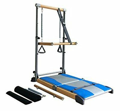Supreme Pilates Pro SPP089 with Ballet Barre Toning Tower, Yoga Pad and DVDs
