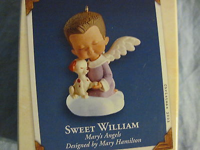 2003 Hallmark SWEET WILLIAM Ornament MARY'S ANGELS #16 in Series NEW
