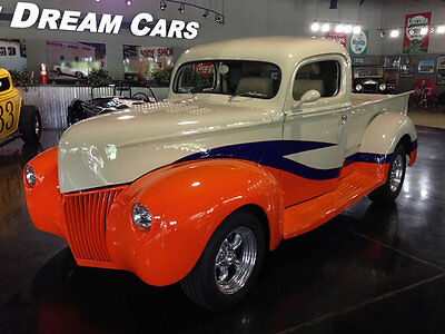 1940 Ford Other Pickups F-1 Pro Touring Custom Street Rod 1940 Ford Pickup Flathead V8 Manual P Disc F-1 Leather Power Windows Street Rod