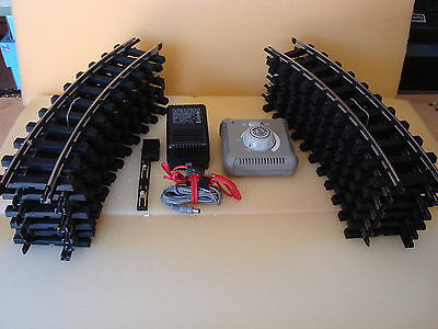 BACHMANN G SCALE 4 1/2 Foot Circle of Track and Complete Transformer Set NEW