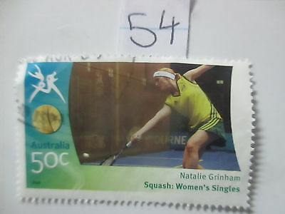 N o -54--2006 COMMONWEALTH  GAMES  -USED  50c  VALUES  ---A1  ORDER