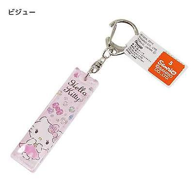 Hello Kitty Acrylic Key ring Stick type Bijoux Charm Mascot