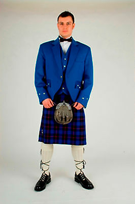 """""""rangers"""" 8 Yard Wool Kilt Set Made To Measure £799 Made Sale Offer Now £599"""