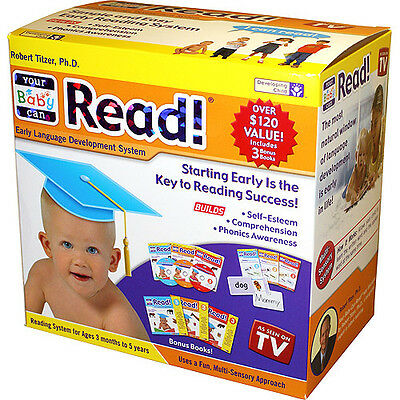 *NEW* Your Baby Can Read Robert Titzer Early Language Development System