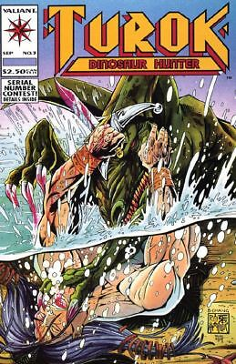 Turok, Dinosaur Hunter #3 VF/NM 1993 Valiant Comic Book