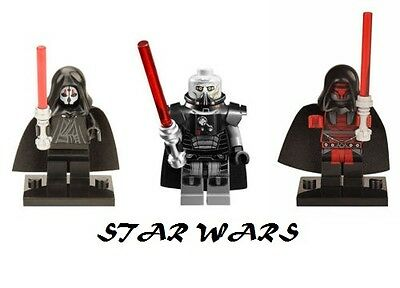 Star Wars Darth Malgus Nihilus Revan Minifigure compatible with LEGO NEW!!!!