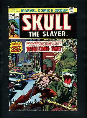 Skull the Slayer #1 FN 1975 Marvel Comic Book