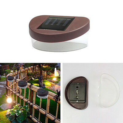 Wireless Garden Solar Lights Weatherproof Outdoor Fence Lamps Yard