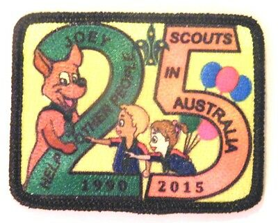 25 Years of Joey Scouts in Australia Badge (2015)