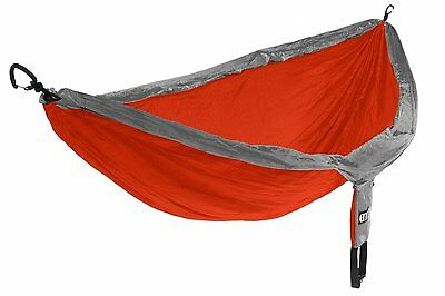 Eagles Nest Outfitters - DoubleNest Hammock, Orange/Grey