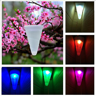 Colorful Changing LED Solar Energy Lawn Lamp Waterproof