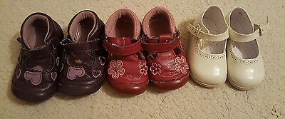 Job lot baby shoes size 3 x 3 pairs + 1 free