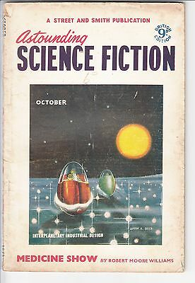 Astounding Science Fiction - British Edition - October 1953 - Clement - Williams