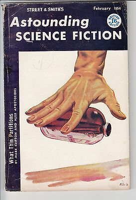 Astounding Science Fiction - British Edition - February 1954 - Padgett - Young