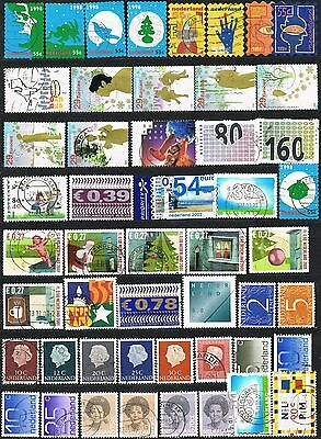 Netherlands. Selection of 50 used stamps