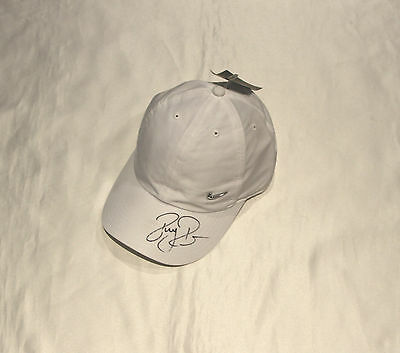 Roger Federer Autographed Nike Tennis Cap with COA