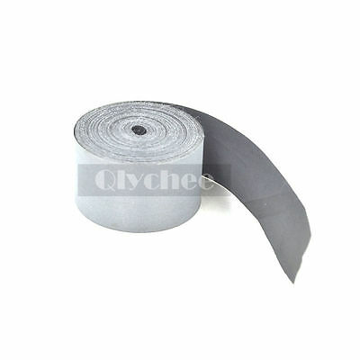 5 Meters Silver Reflective Tape Safety Conspicuity Sew on Trim Fabric Width 25mm