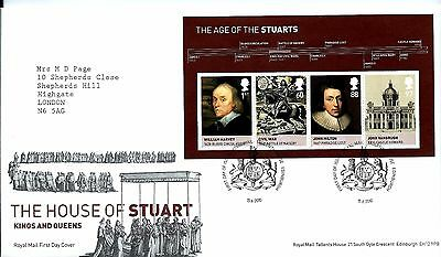 """2010 House Of Stuart M-Sheet  """"with Bureau """" Hand Stamp See Scan"""