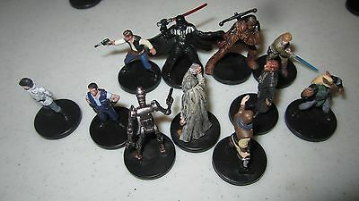 Star Wars mini   painted minis, assualt on the imperials miniatures-C