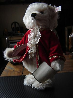 """Steiff Musical Mozart bear 656408 Limited edition of 2006 11"""" tall. Plays tune"""