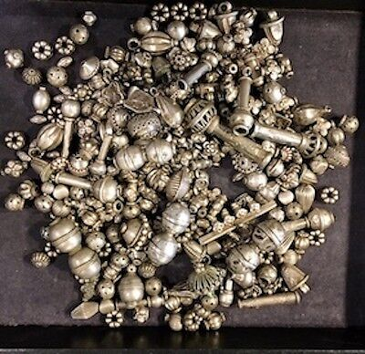 Lot of Ancient Indian silver beads