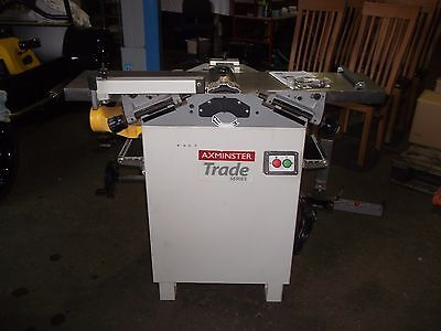 Axminster planer thicknesser AW106PT2 Trade series 250mm