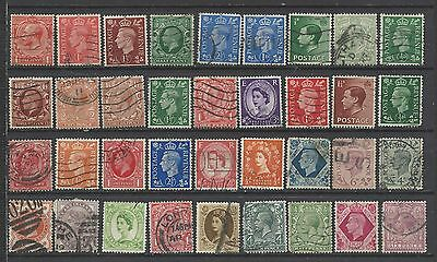 British Queen victoria onwards old stamps with good mix with old kings gb...*!