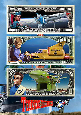 Thunderbirds A4 Posters x2